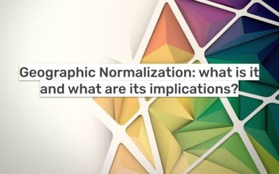 Geographic Normalization: what is it and what are its implications?