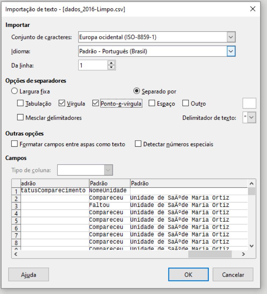 exemplo de encoding ISO-8859-1