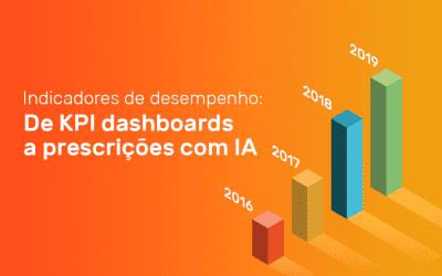 Indicadores de desempenho: de KPI dashboards a prescrições com IA