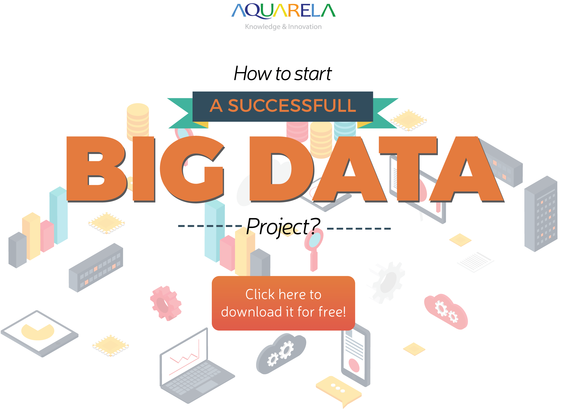 Understanding a Pre-Big Data project (Infographic)