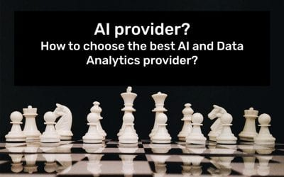 AI provider? How to choose the best AI and Data Analytics provider?