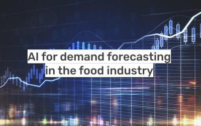 AI for demand forecasting in the food industry