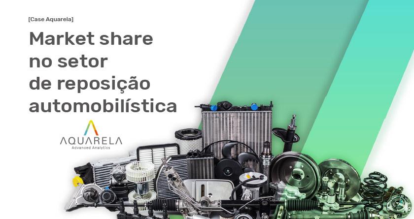 Case Aquarela - Market share no setor de reposição automobilística