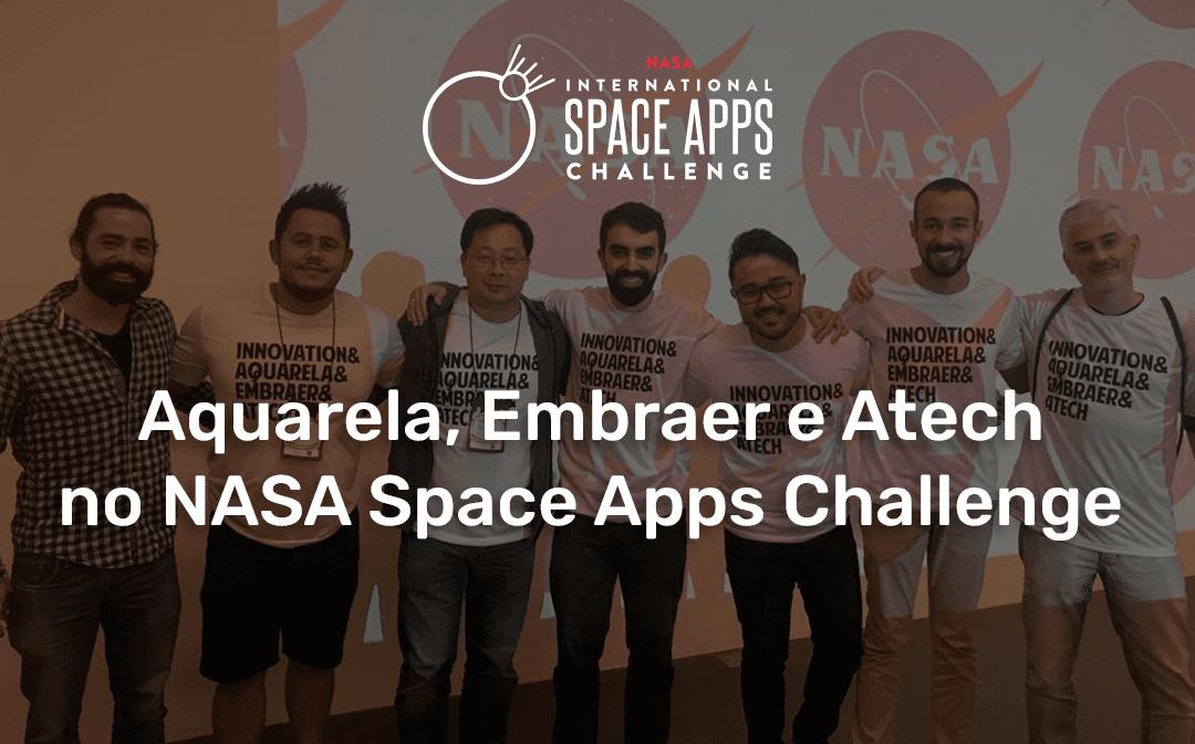 Aquarela no NASA Space Apps Challenge São Paulo