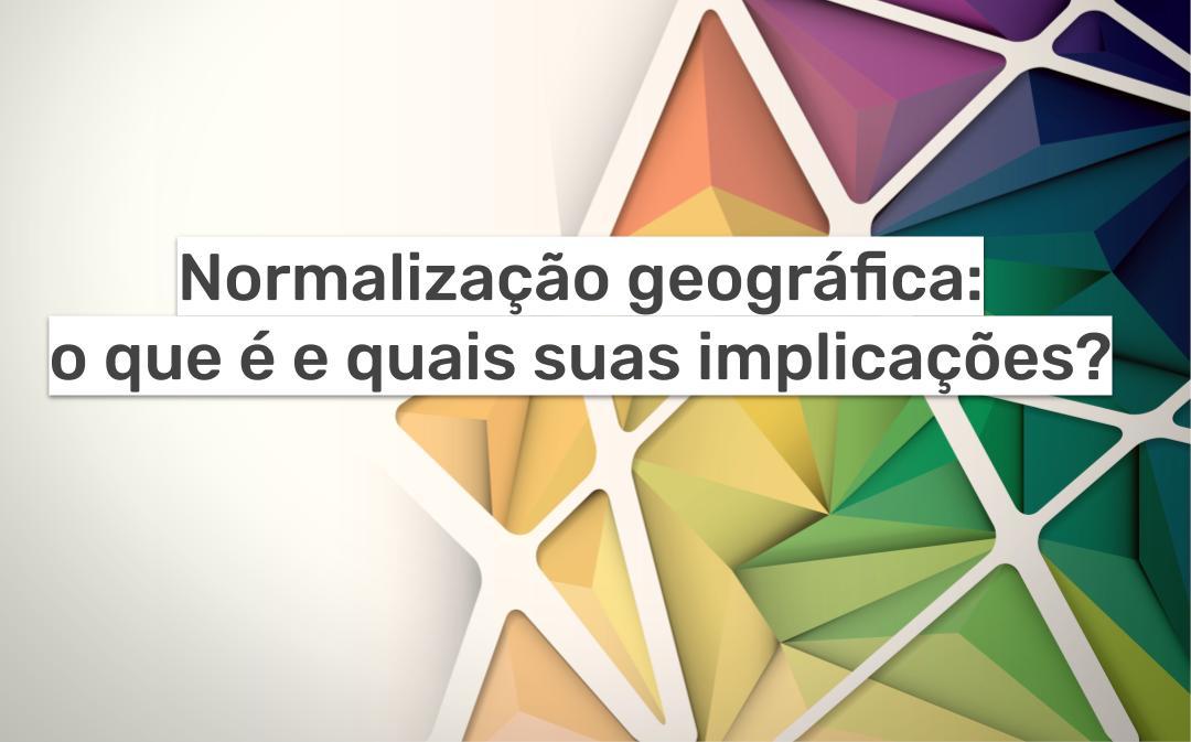 imagem normalização geográfica